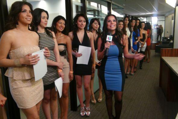 Cynthia Piña representó a Houston en el 2010 y hoy estuvo de lleno con l...