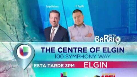 Gira En Tu Barrio llega a Elgin