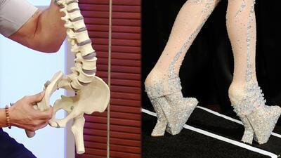 Zapatos que afectan a la salud: los daños que el calzado (como el de las famosas) puede provocar