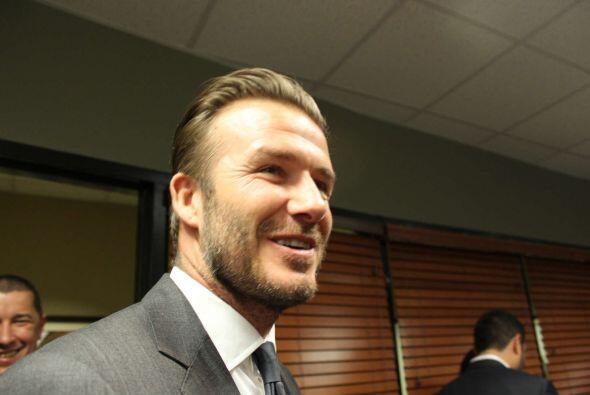 David Beckham, decidido y contento de estar en Miami