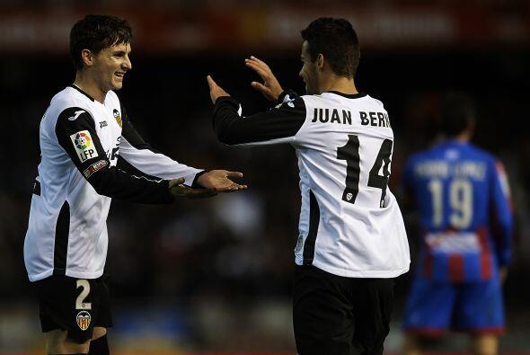 El Valencia fue protagonista tal como anunció Pizzi en sus intenciones,...