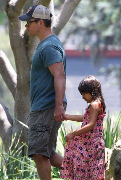 Y aunque Alexia no sea su hija biológica, el actor la quiere como si lo...