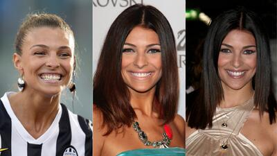 Cristina Chiabotto, la fanática que espera la llegada de Cristiano Ronaldo a Juventus