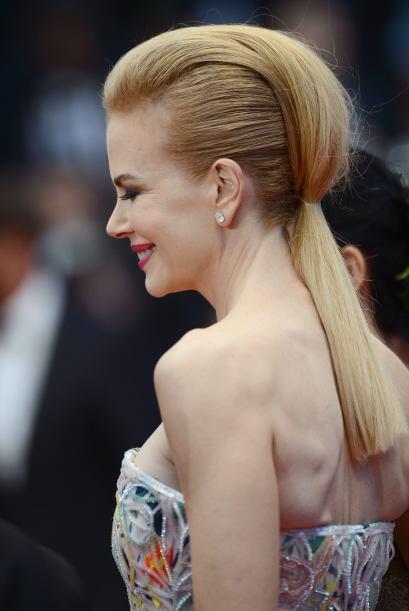 La que robó cámara con sus 'looks' fue Nicole Kidman, a qu...