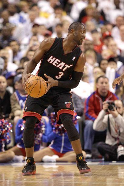 6 - Dwyane Wade del Heat de Miami. Con la llegada de LeBron James a Miam...