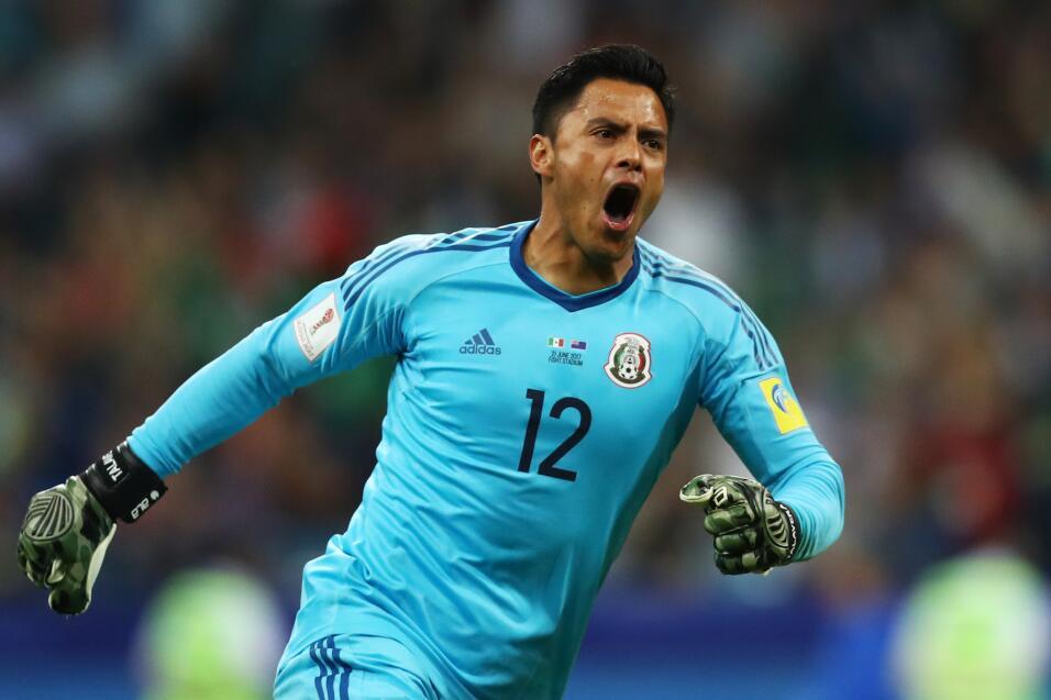 Alfredo Talavera (Toluca) - 25 partidos jugados (cinco con México...
