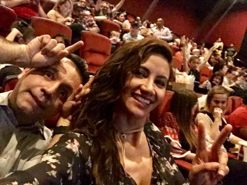 Omar y Argelia se fueron a ver 'Beauty and the Beast' antes que nadie Fi...