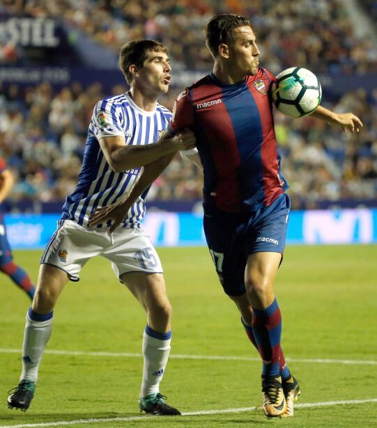Real Sociedad y Carlos Vela fueron goleados por el Levante 6364163285925...