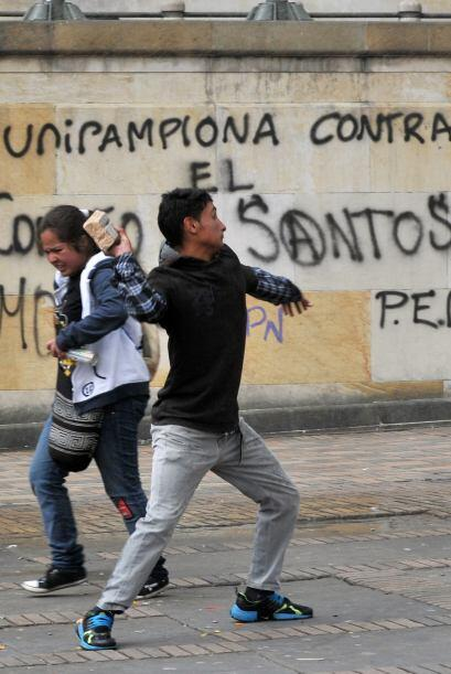 """Pero los colombianos """"indignados"""" también se han movili..."""