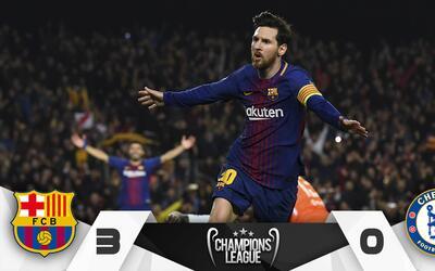 Marcador Barcelona vs. Chelsea