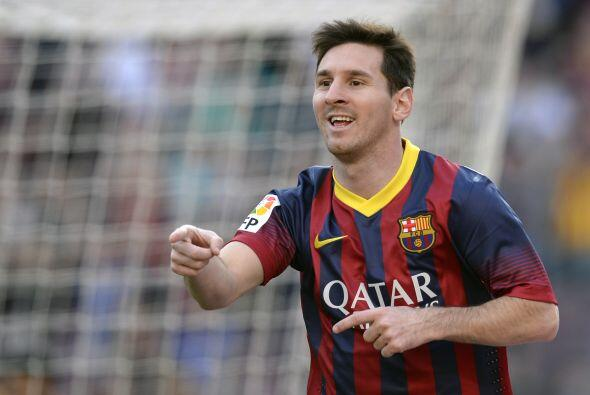 El argentino Lionel Messi es la gran figura de la jornada y no podía fal...