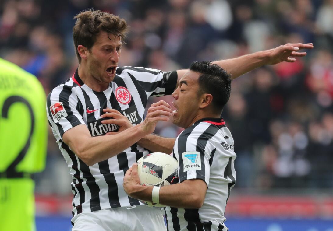 Doblete de Marco Fabián con Eintracht Frankfurt: ¿va tras las huellas de...