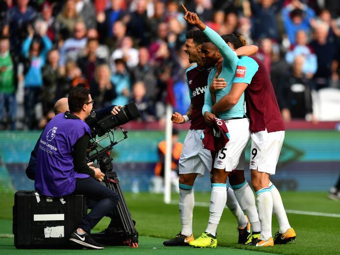 Sakho salvó al West Ham de un pálido empate, en el que el Chicharito jug...