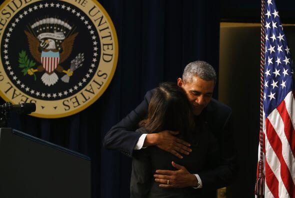 El momento más emotivo de la exhibición de la película fue cuando Barack...
