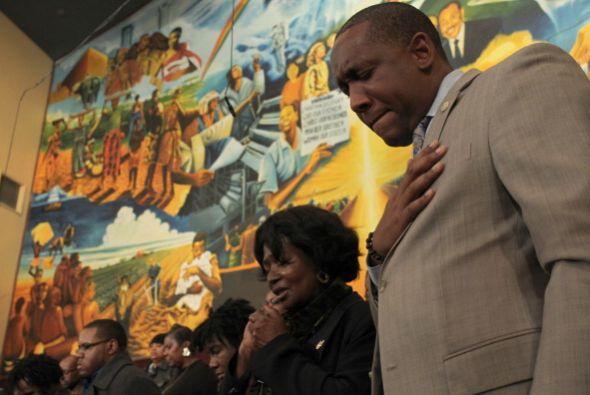 Para los testigos de la  histórica visita al sur centro de Los Ángeles,...