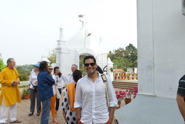 Ismael Cala viajó a la India.