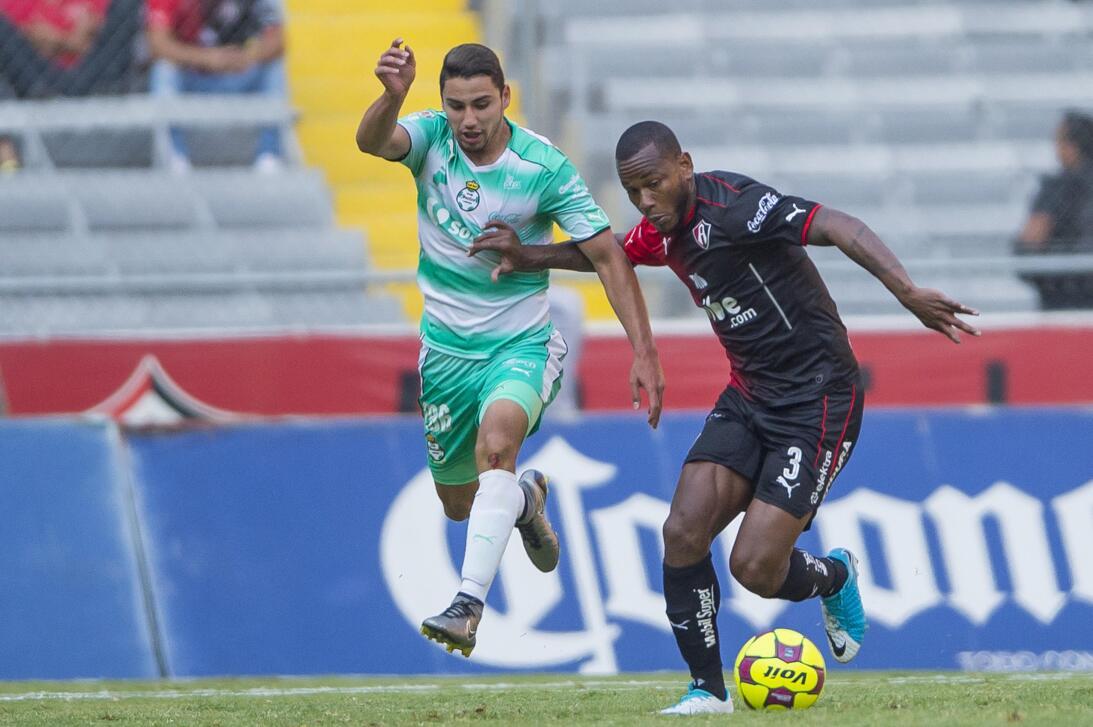 Atlas y Santos reparten puntos Jorge Sanchez Santos y Leiton Jimenez Atl...