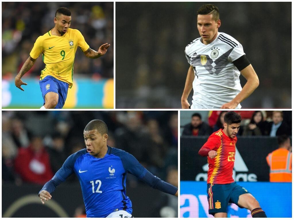 Draxler, Mbappé, Gabriel Jesús, Asensio y otros jóvenes que podrían desp...