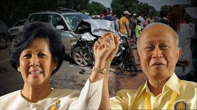 Príncipe batalla por la vida tras sufrir accidente de tránsito en el que murió su esposa