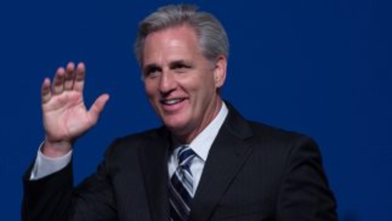 El congresista californianoKevin McCarthy, nuevo líder de la mayoría re...