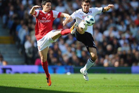 Pero Fulham fue mejor en la cancha e impidió que Arsenal lograra la clas...