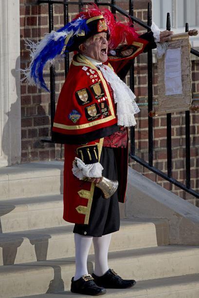 14 de enero de 2013  El Palacio de St.James anuncia que el bebé de los d...