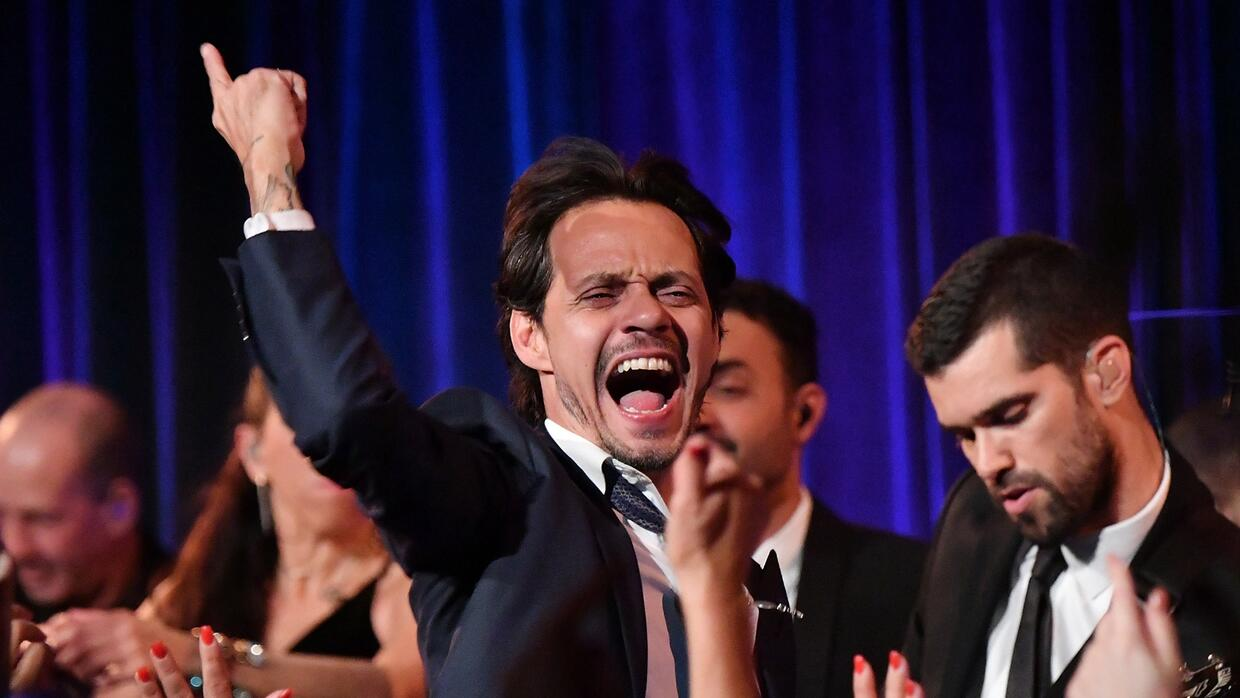 Un payaso (y no el de 'It')  podría quitarle el Latin GRAMMY a Marc Anthony