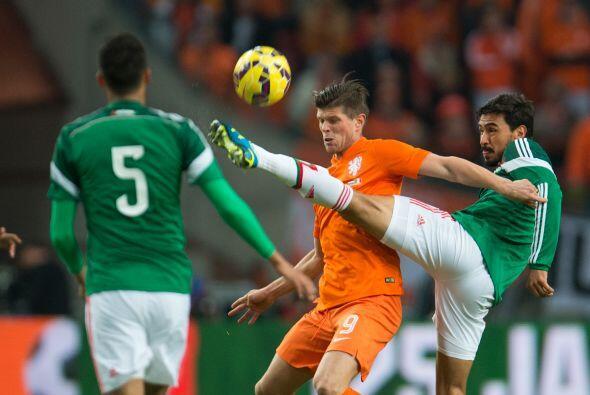 Holanda presionó la salida de los mexicanos y con ello fue tomando la in...