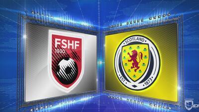 Albania 0 – 4 Escocia – Goles y Resumen –  Liga C - Grupo 1 – UEFA Nations League