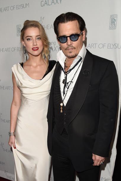 Pero en aquel entonces Johnny seguía unido con Vanessa Paradis.