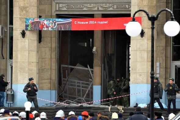 Vladímir Markin declaró que el atentado suicida de este lunes tiene rela...
