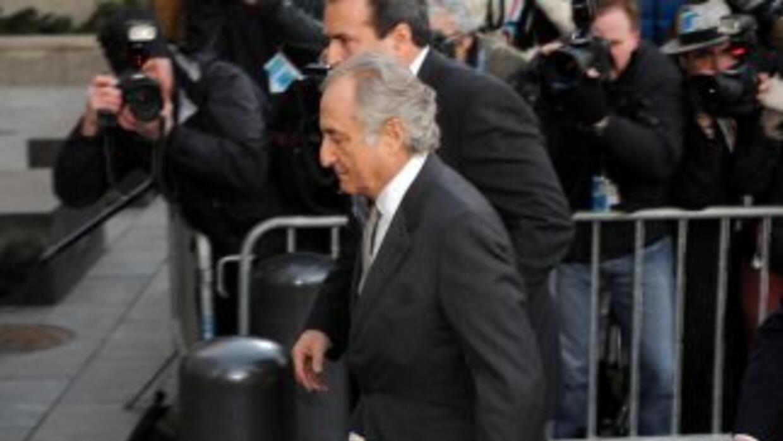 Bernard Madoff se encuentra cumpliendo una pena de 150 años de prisión d...