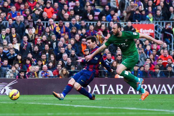 El 10 del Barcelona deleitó a los aficionados con sus acostumbrados rega...