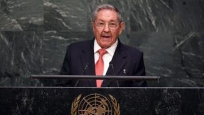 Raúl Castro se estrenó este sábado en las Naciones Unidas.