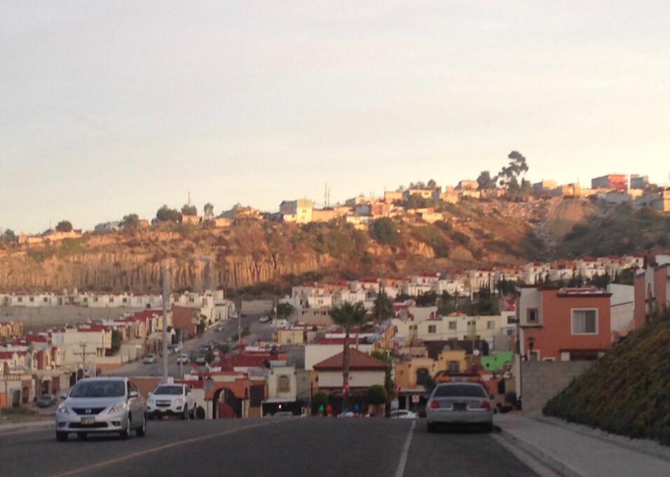 Un barrio de la ciudad de Tijuana.