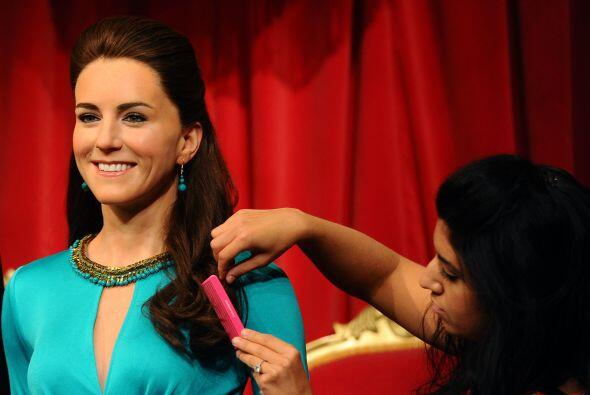 ¿Te gusta cómo luce Kate Middleton en cera?