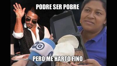 Hondureña dice que los frijoles son comida para cerdos y le llueven memes