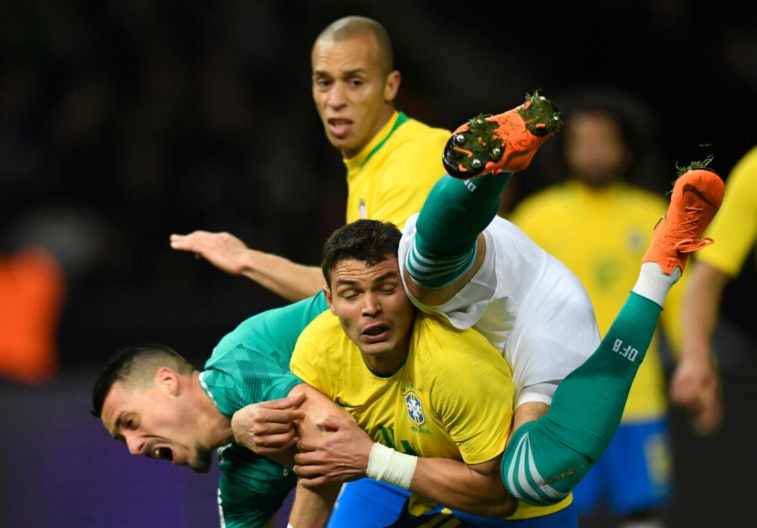 En fotos: Brasil venció 1-0 a Alemania y deja un mensaje claro previo al...