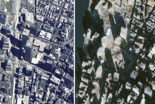El World Trade Center fue diseñado por Minoru Yamasaki a principios de l...