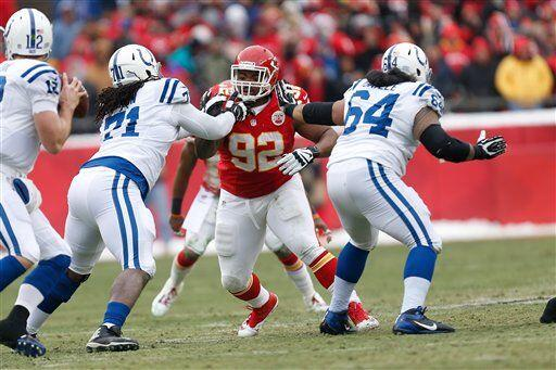 Dontari Poe, tackle defensivo de los Kansas City Chiefs (AP-NFL).