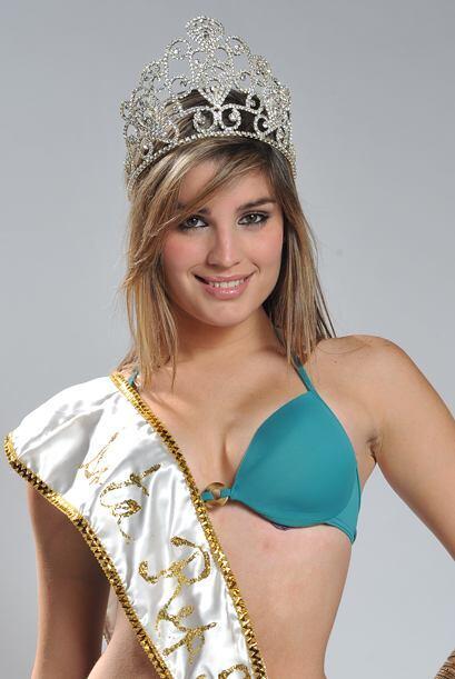 Con esta belleza, ella se coronó la Señorita República Deportiva 2009.