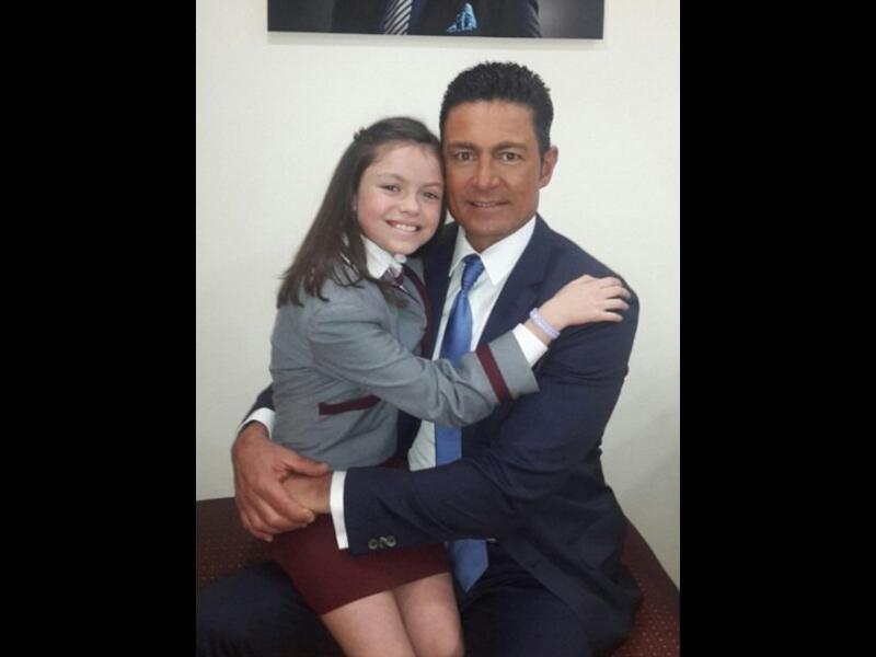 María José y Fernando Colunga