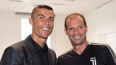 Allegri confirma que Cristiano Ronaldo está en planes y listo para jugar ante Udinese