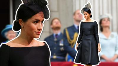 Este vestido no es negro: te explicamos la gran confusión con el color de este Dior de Meghan