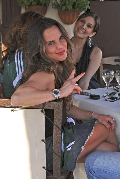La verdad es que una cosa hay que admirar siempre en Kate del Castillo....