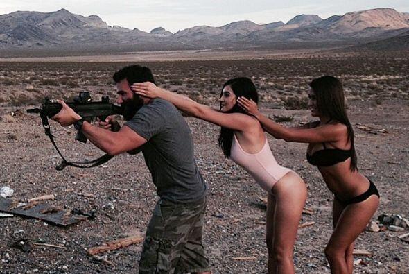 Las armas y las mujeres son sus hobbies favoritos. Fotos:instagram.com/...