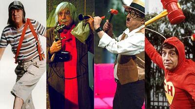 Los personajes más populares de Roberto Gómez Bolaños