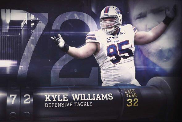 #72 Kyle Williams.