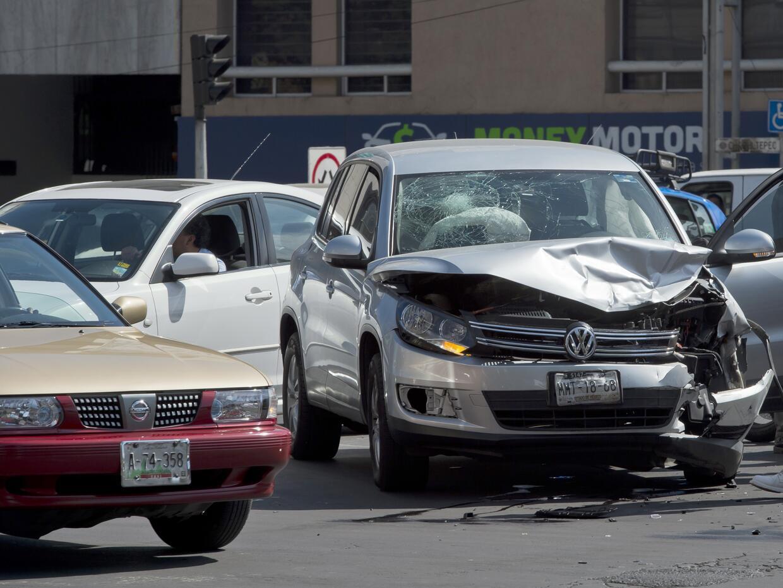 Accidente de tráfico en la Ciudad de México