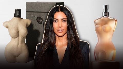Kim Kardashian y su nueva fragancia KKW Body